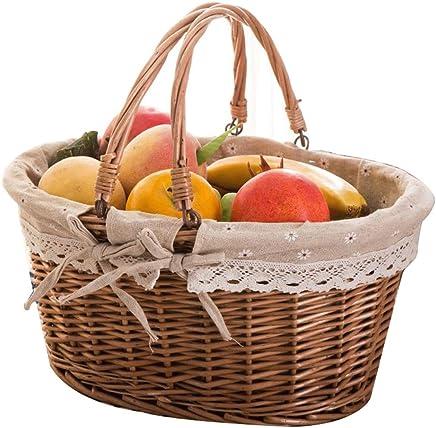 Tragbarer Korb für Picknickkorb-Rattan-Aufbewahrungskorb B07MM6JY7F B07MM6JY7F B07MM6JY7F   Optimaler Preis  800fac