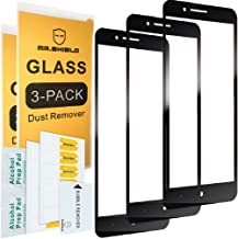 [3-Pack]-Mr.Shield for ZTE Blade Z Max [Tempered Glass] [9H Hardness] [Full Cover] Screen Protector with Lifetime Replacement
