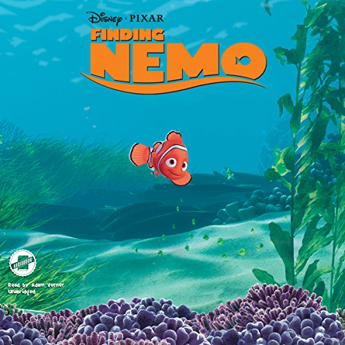 Finding Nemo audiobook cover art