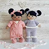 Sweet Dreams - Lilly and May dolls: Toy Knitting pattern (English Edition)