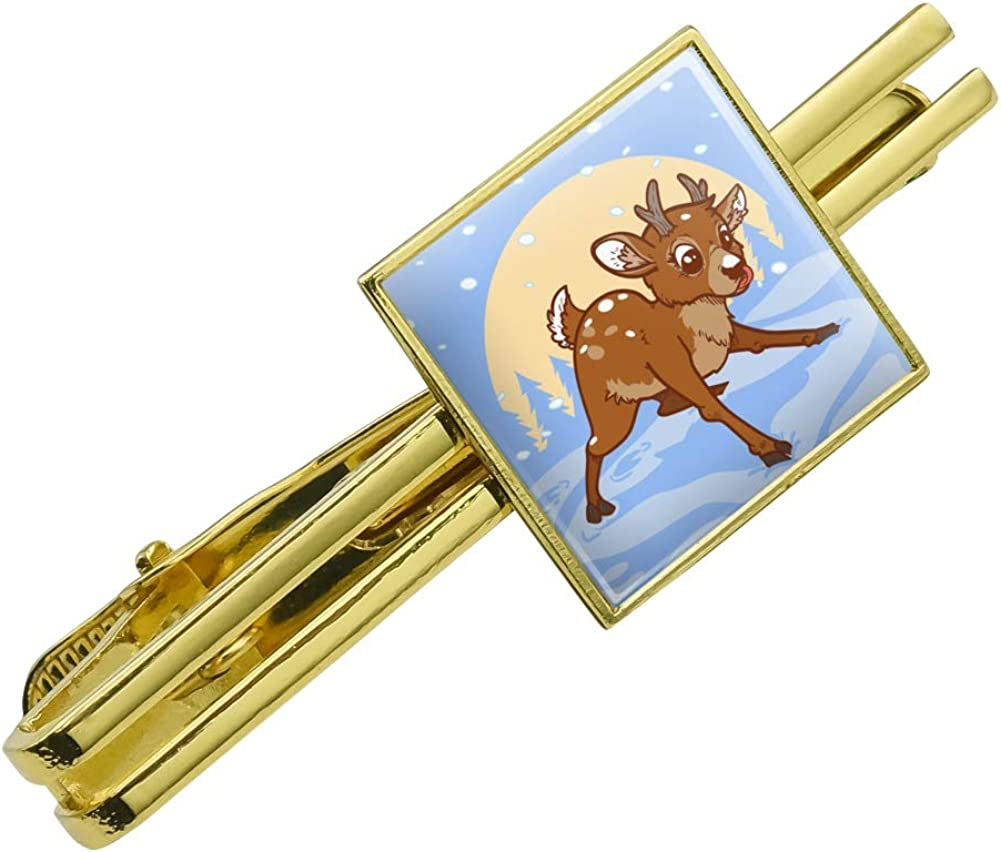GRAPHICS Max 40% OFF MORE Baby Reindeer Outstanding Christmas Square Tie C Holiday Bar