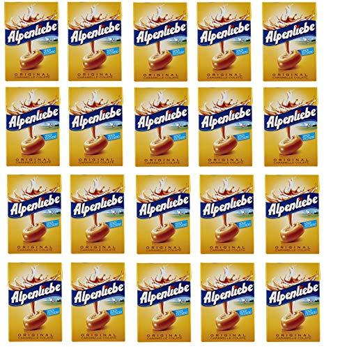 20x Perfetti Alpenliebe Süßigkeiten Honig Geschmack Bonbon Lollies 49g