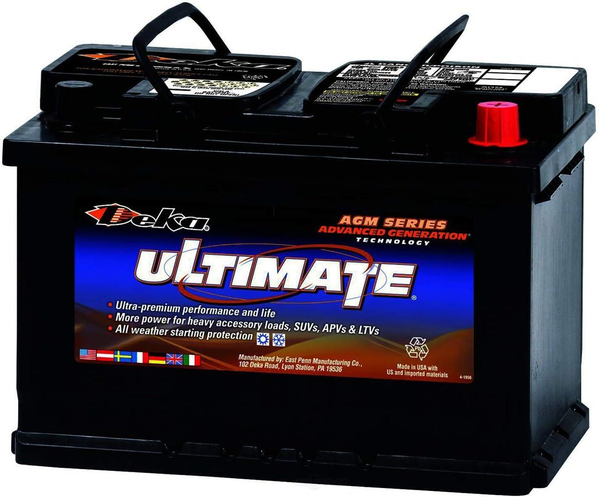 Deka 9AGM48 AGM Houston Mall Large discharge sale Intimidator Battery
