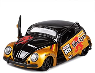 HTDZDX Model Car Retro Beetle Car 1:24 Simulation Die-Casting Alloy Toy Car Simulation Car