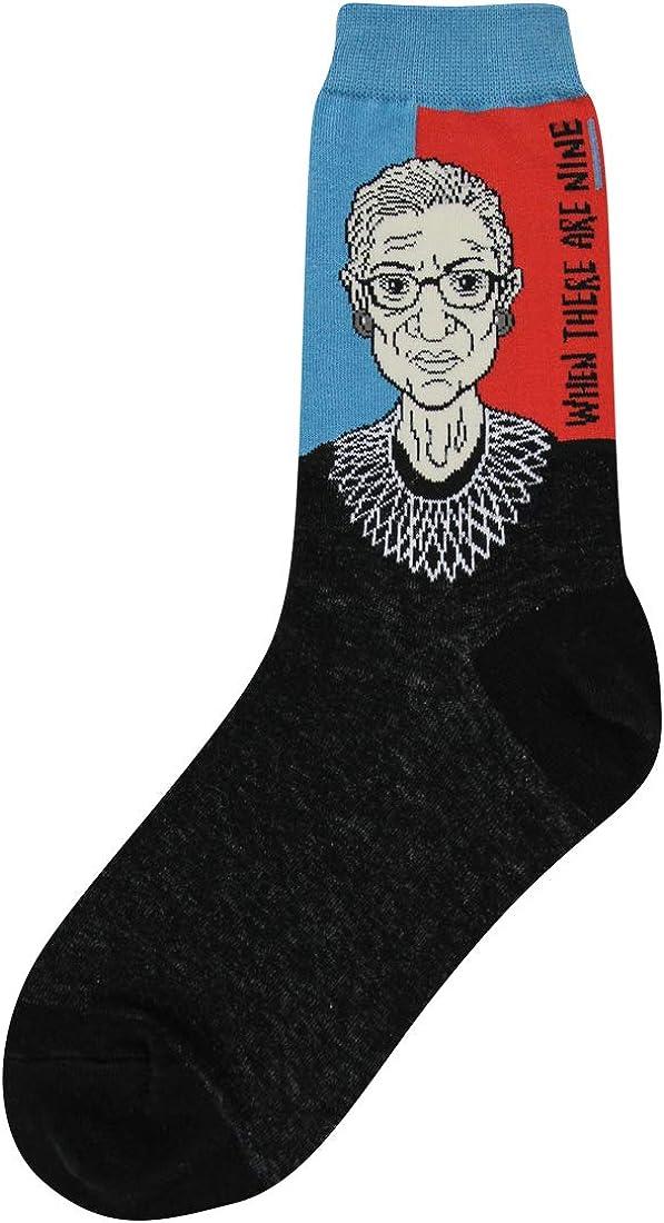 Foot Traffic Women's Education-Themed Socks, Fun Novelty Socks, Sizes 4–10