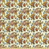 Lunarable Circus-Stoff von The Yard, Sketchy Circles im