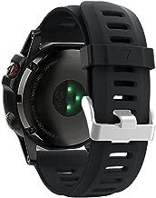 ZSZCXD Band for Garmin Fenix 3 / Fenix 3 HR/Fenix 5X, Soft Silicone Wristband Replacement Watch Band for Garmin Fenix 3 / Fenix 3 HR/Fenix 5X Smart Watch