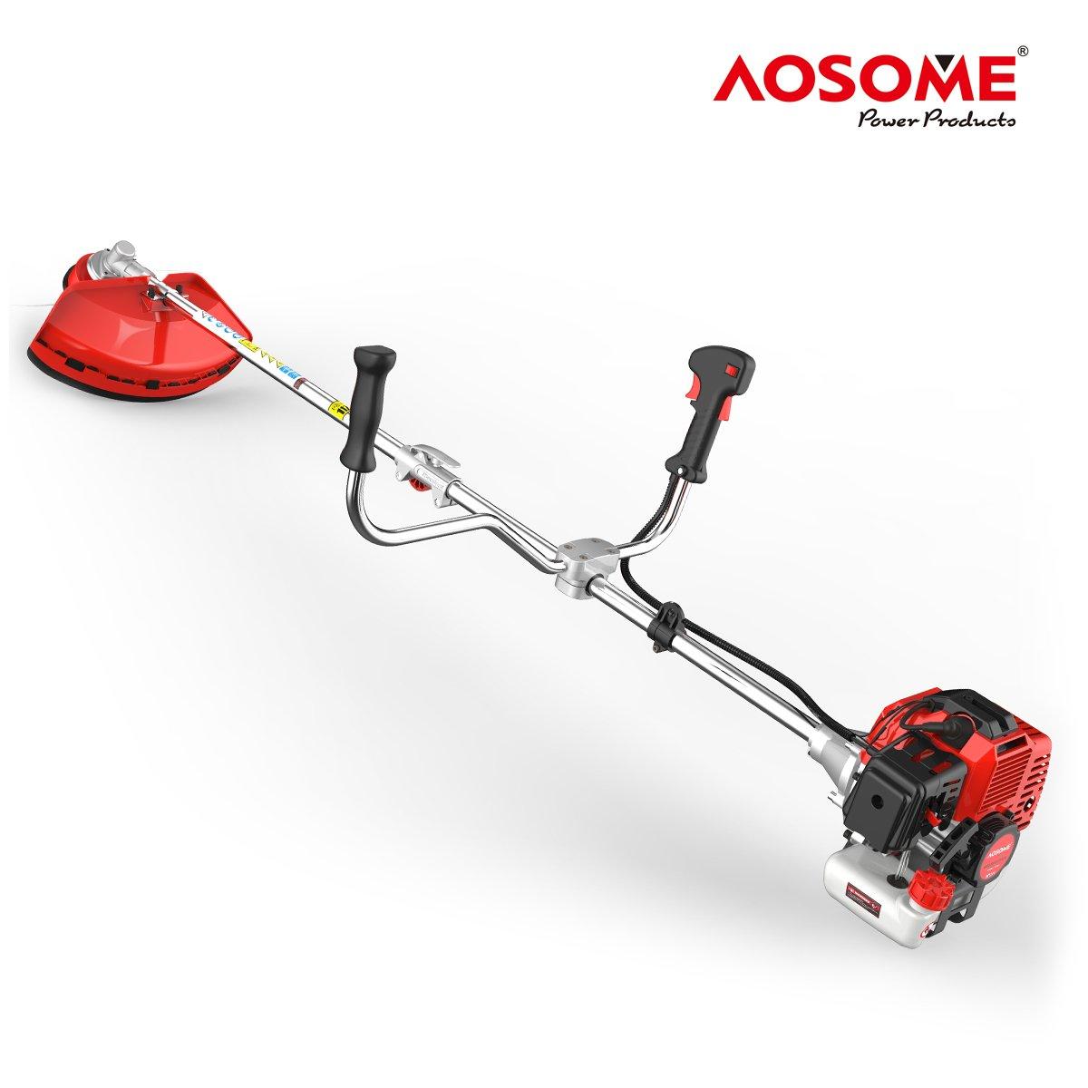 AOSOME Desbrozadora Gasolina 52cc, 2 Tiempos, 2.2kw, 3.0HP: Amazon ...