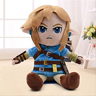 addre Auston ABEL Zelda Plush Toys Cartoon Link Boy with Sword Soft Stuffed Doll for Kids Best Gift 27cm Gift