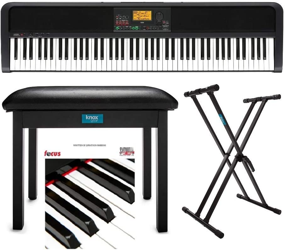 Korg XE20 Limited price 88-Key Natural-Touch Digital Piano Bundle sold out wit Ensemble