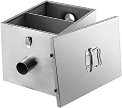 BEAMNOVA 9lbs Commercial Grease Trap Stainless Steel Interceptor