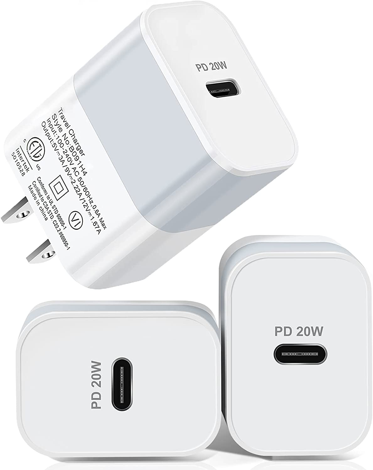 USB C Charger ,20W iPhone Fast Wal Shipping included Cellphone Max 82% OFF Type
