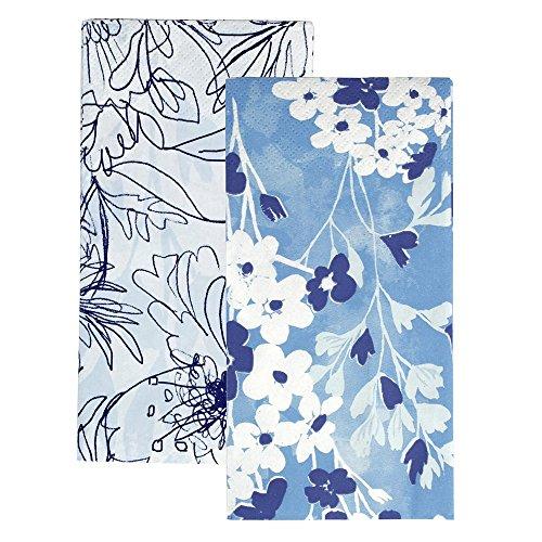 Talking Tables Floral Serviette de Table Lot de 2, en Microfibre, Multicolore, Lot de 20