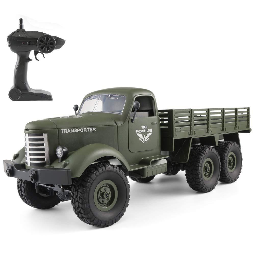 Goolsky JJR / C Q60 1/16 2.4G 6WD RC Off-Road Crawler Camión ...