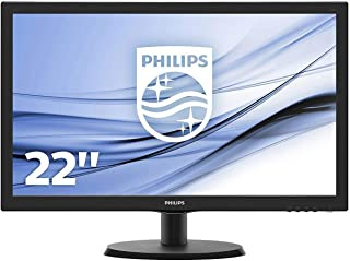 "Philips 21.5"" Full HD 1920x1080 LED Monitor (223V5LHSB2)"