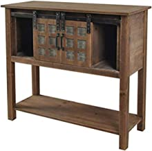 Crestview Collection FZR2760SNG 36X14X34 Console Table Element Furniture