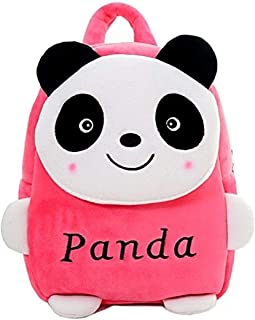 BENGALEN Premium Quality Soft Backpack for Kids (Pink Panda)