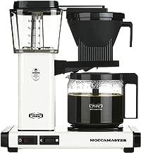 Technivorm Moccamaster 53956 KBG Coffee Brewer, 40 oz, Off-White