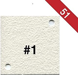Buon Vino Super Jet Filter Pads, 8.0 Micron (#1) White (Pack of 51)