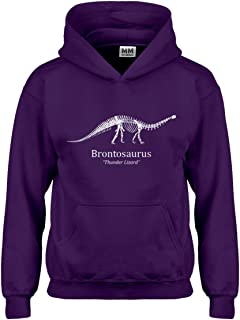 Indica Plateau Brontosaurus Hoodie for Kids