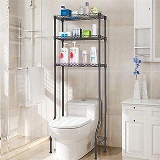 QIDOFAN Etagères Douche Organisateur de stockage 3 tablettes de bains Organisateur sur les toilettes Support de rangement ...