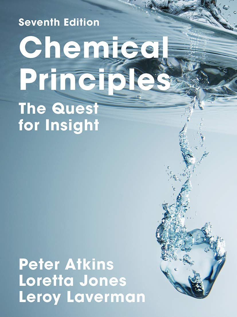 Chemical Principles: The Quest for Insight