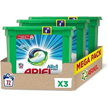 Ariel 3 en 1 Pods Color y Style, Detergente Cápsulas - 50 Lavados ...