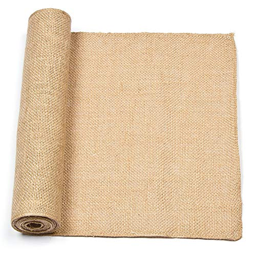 Baker Ross Rollo de arpillera natural para manualidades textiles, decoraciones, collages y modelos (3 x 16 cm)