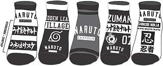 5 pares de calcetines - Tobillo - Gris Negro y Blanco