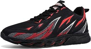 XIMIXI Mode Herren Sneaker Atmungsaktive Sportschuhe für Herren Schnürschuhe Outdoor Schuhe Dämpfung Gummilaufsohle Rutsch...