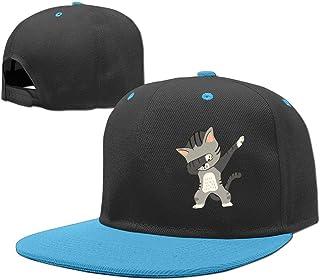 Black Big Hip Hop Caps Cotton Baseball Hats Dabbing Cat Boys Girls 969e009e35e3