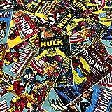 Patchworkstoff - Marvel Comics - Baumwollstoff - Stück: