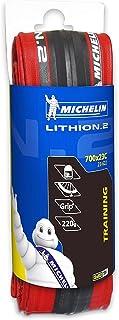 Michelin Lithion Cubierta, Deportes Y Aire Libre, Rojo, 700 x 23C