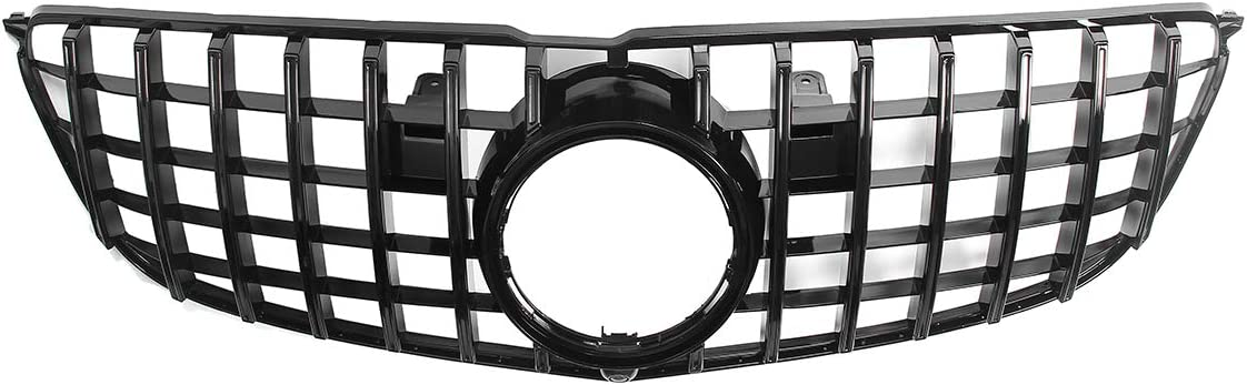 EBDS Front Bumper Grill Grille 2021 autumn and winter new Shiny Max 42% OFF Car Style GTR for Black Co