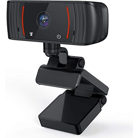 Gaming Camera Streaming Webcam Webcam with Microphone Funcam 1080P for PC Widescreen Video Calling HD, Plug and Play with 360°Flexible Rotation Wide Angle Cam 2020 New Version