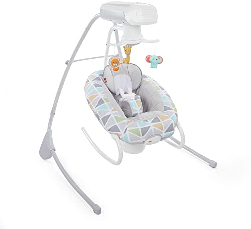 Fisher-Price Deluxe Cradle 'n Swing - Best Baby Swings for Colic
