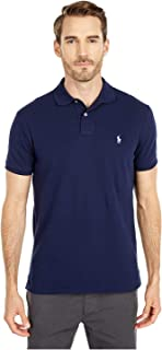 Polo Ralph Lauren Basic Mesh Polo T-Shirt for Men - Newport Navy,M