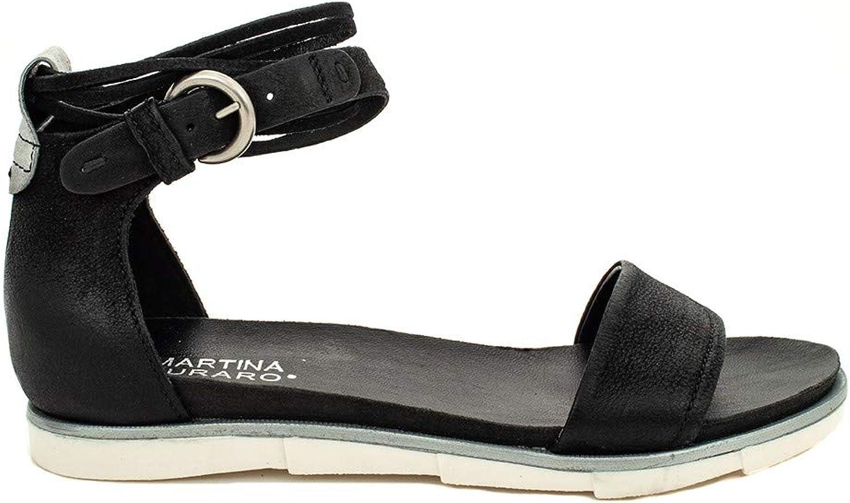 Mjus Martina BURARO 740025 Sandalo schwarz-INOX