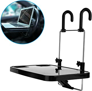 Oshotto Foldable Laptop Tray/Food Tray/Cup Holder Multi Functional Car Organiser for Lexus LS