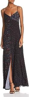 Womens Floral Maxi Slip Dress