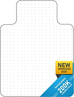 Heavy Duty Carpet Chair Mat Polycarbonate Crystal Clear Thick and Sturdy For Low and..