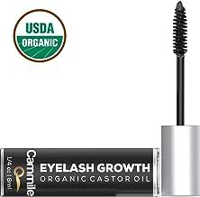 Eyelash Growth - Organic Castor Oil - Grow Longer Lashes & Fuller Eyebrows - Use As An Eyelash Serum - A Natural Solution for Eyebrow and Eyelash Regrowth!