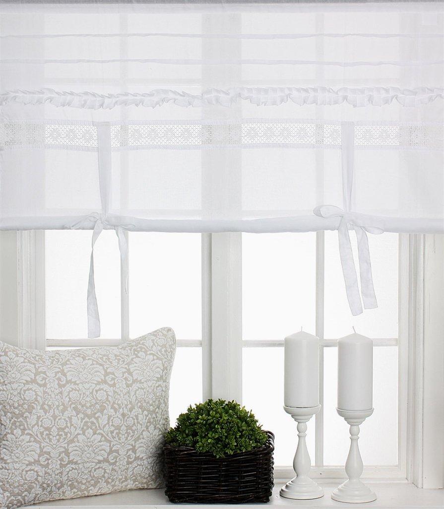 Visillo cortinas cortina Estor Cortina 140 x 100 cm (BxH) con ...
