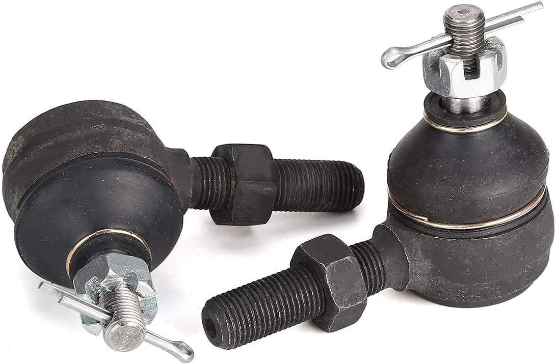 Song chuan Tie Rod Ends Ball Joint Kit for Club Car DS G/&E 1976-2008 Driver and Passenger Side 1011895-7539,7540