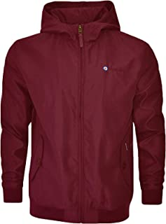 Lambretta Hooded Shower Resistant Harrington Jacket