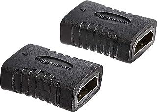 AmazonBasics HDMI Coupler, 29 x 22mm, Black
