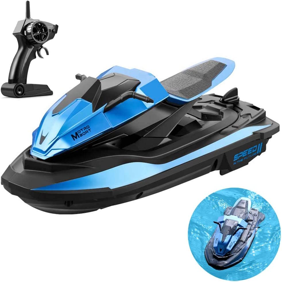 FXQIN Remote Control Electric Racing Max 82% OFF Boat Pools Jacksonville Mall and Lakes for Hi