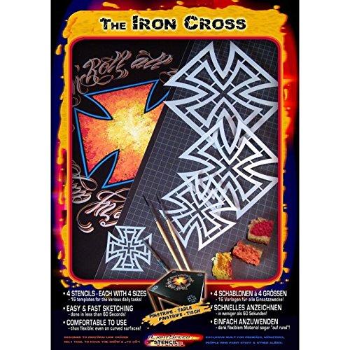 Pinstriping Schablone Iron-Cross 410170 Harder und Steenbeck