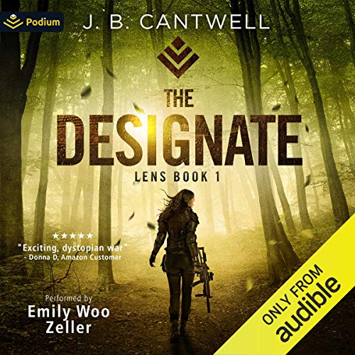 The Designate Audiobook By J.B. Cantwell cover art