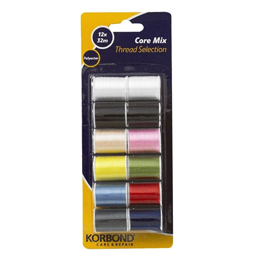 32m Pack Of 12 Core Mix Threads